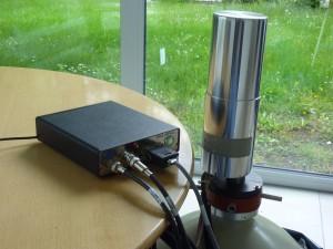 "Stand-alone""_Spektrometrie-System"